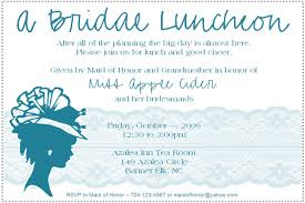 bridal luncheon invitation weddingbee