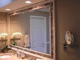 mirrors bathroom wall chrome