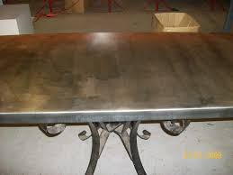 images zinc table top:   mm zinc table top withlight patina by metal sheets limited