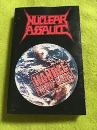 <b>Nuclear Assault Handle</b> With Care Thrash Metal Cassette | eBay