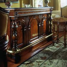 aico furniture antique pulaski apothecary style