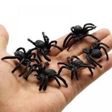 Halloween Kids Toys <b>Simulation Spider Jokes Toys</b> PVC Artificial ...