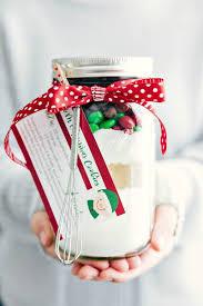 Mason Jar Gift: M&M Christmas Cookies {Free Printables ...