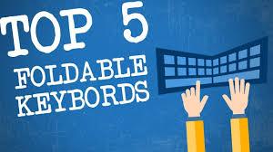 Top 5 Best <b>Foldable Bluetooth Keyboards</b> | <b>Folding Bluetooth</b> ...