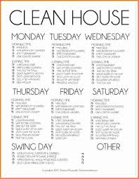 weekly house cleaning schedule s report template weekly house cleaning schedule smaller basic cleaning schedule weekly copy1