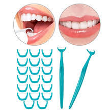 10pcs interdental brush clean teeth floss toothpick oral care tool dental orthodontic for hygiene
