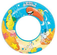 <b>Круг надувной</b> для плавания <b>Bestway</b> Дизайнерский 36013 BW ...