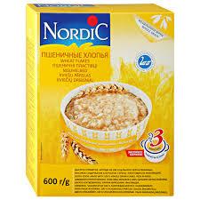 <b>Хлопья Nordic пшеничные</b>, 600 - купить в Дочки-Сыночки в Москве