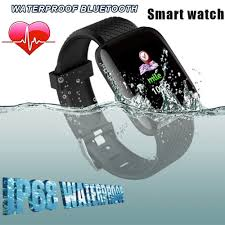 <b>NEW</b> D13 Bluetooth Sport Mens Watch Waterproof <b>116 Plus</b> Smart ...