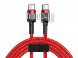 <b>Аксессуар Baseus Cafule USB</b> Type-C PD2.0 60W 1m Red ...