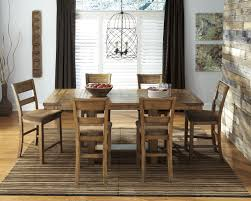 dinning set dining area room table board white stained wooden dining chairs cream fabric sectional carpet stain