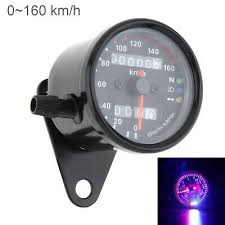 <b>Dual Odometer Motorcycle</b> LED Backlight KMH <b>Speedometer</b> ...