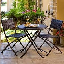 Portofino <b>3</b>-<b>piece folding bistro</b> table by RST Outdoor $159.99 ...