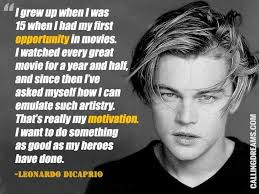 8 Iconic quotes by Leonardo DiCaprio | Leonardo Dicaprio, Quote ...