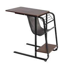WGYDREAM End Side Tables, Sofa Table, Carbon <b>Steel C</b>-<b>Shaped</b> ...