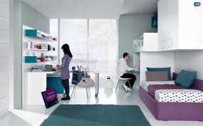 jade mauve white contemporary teenagers room shared bedroom teen girl rooms