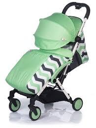 Купить <b>Прогулочная коляска Babyhit Amber</b> Plus зеленый/зигзаг ...