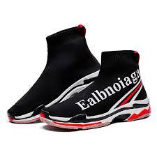 RAYDESTINN Mens Women Walking Sock Shoes Unisex <b>Couple</b> ...