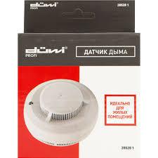 <b>Датчик дыма</b> электронный Smoke Alarm, цвет белый, IP20 в ...