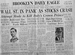 stock market crash of research paper  stock market crash of 1929 economics essay