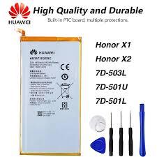 Original <b>High Quality</b> HB3873E2EBC Battery For Huawei Mediapad ...