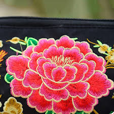 2018 <b>Small</b> Embroidered Mobile Phone Wallet Lady Nation <b>Style</b> ...