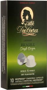Кофе в капсулах <b>Don Cortez</b> Brasile, 10 шт — купить в интернет ...