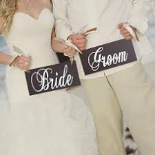 <b>Wooden Bride and</b> Groom Wedding Chair Decoration Sign Wedding ...