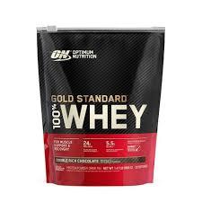 ON <b>100</b>% <b>Gold Standard</b> Whey - Double Rich Chocolate - 24oz ...