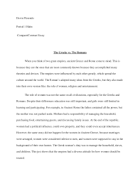 compare contrast essay comparison and contrast essay examples