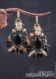 <b>Сваровски серьги</b> с ювелирными камнями и жемчугом – заказать ...