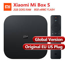 <b>Global Version</b> Original Xiaomi Mi <b>Box S</b> Smart TV Box 4 Android ...