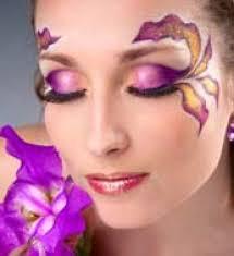 fantasy foliage makeup