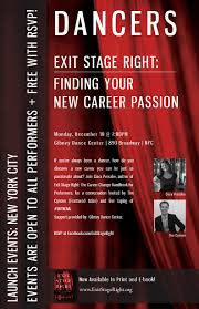 events exit stage right finding your new career passion