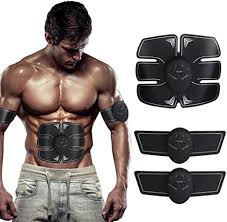 SHENGMI <b>EMS Muscle Stimulator</b>, <b>ABS Trainer Ab Toner</b> Belt ...