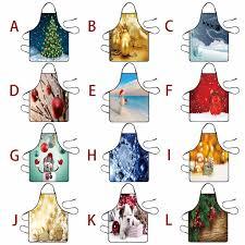 <b>Christmas Decoration</b> Waterproof <b>Apron</b> Kitchen <b>Aprons</b> Dinner ...