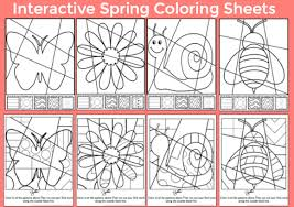 Small Picture Spring Art Integration Lessons Art with Jenny K