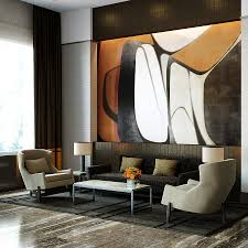 modern bedroom city park view  park with new york city view lovely lobby with a blend of natural mat