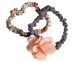 """<b>Резинки</b> для волос """"Fluffy Flower"""", 2 шт., с розовым цветком ..."""