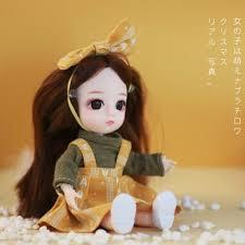 Fashion <b>Doll</b> smart Girls Princess <b>Toy</b> multi joint Mini simulation ...