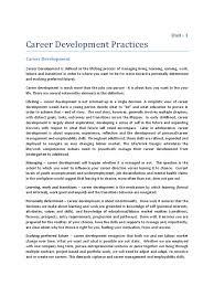 career development practices pdf scribd com