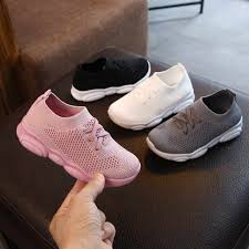 Baby Boy <b>Girl</b> Shoes <b>Kids</b> Casual Sneakers Candy Color Cut outs ...
