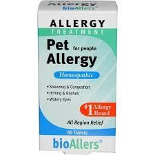NatraBio, <b>bioAllers</b>, <b>Allergy Treatment</b>, <b>Pet</b> Allergy for People, 60 ...