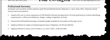 qualifications summaryresume builder qualifications summary