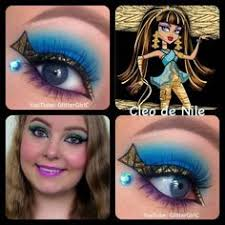monster high cleo de nile makeup you channel s you user glitterc