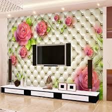 room elegant wallpaper bedroom: aliexpresscom buy romantic rose photo wallpaper d flowers wall mural custom elegant wallpaper love murals kid wedding room decor wall art bedroom from