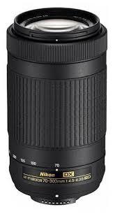 Купить <b>Объектив NIKON</b> 70-300mm f/4.5-6.3 <b>AF</b>-<b>P DX</b> в интернет ...