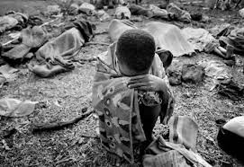 rwandan genocide    the rwandan patriotic front  rpf   hutus plotted a response which would include extermination  this later became the rwandan genocide