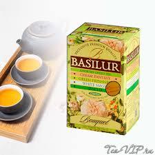 <b>Чай ассорти Basilur Букет</b> 20 пакетиков | купить с доставкой