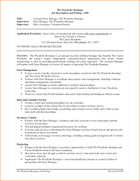resume store manager sample resume store manager sample resume